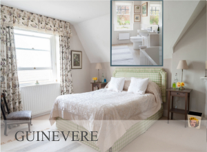 Guinevere - Luxury Double Bedroom in Castle Cary