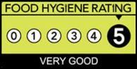 Food Hygiene Rating 5*